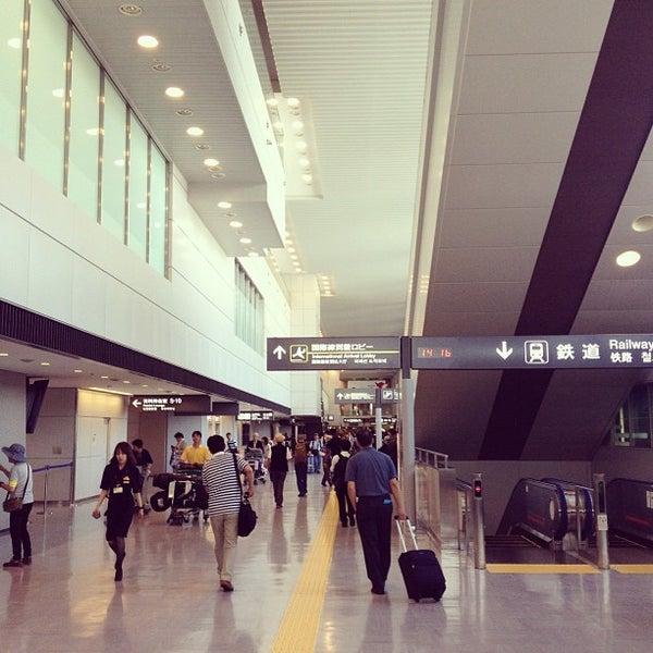 Photo taken at Narita International Airport (NRT) by ryo n. on 7/6/2013