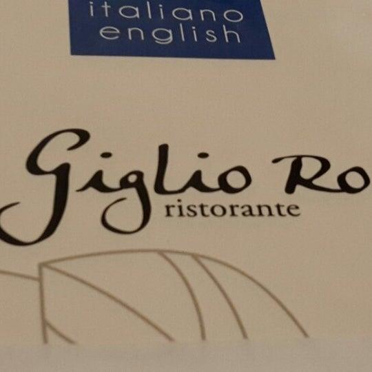 รูปภาพถ่ายที่ Giglio Rosso โดย Emel A. เมื่อ 2/1/2014