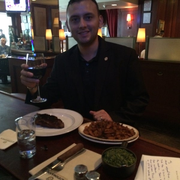 Photo taken at Rothmann's Steakhouse by Jonathan M. on 5/2/2014
