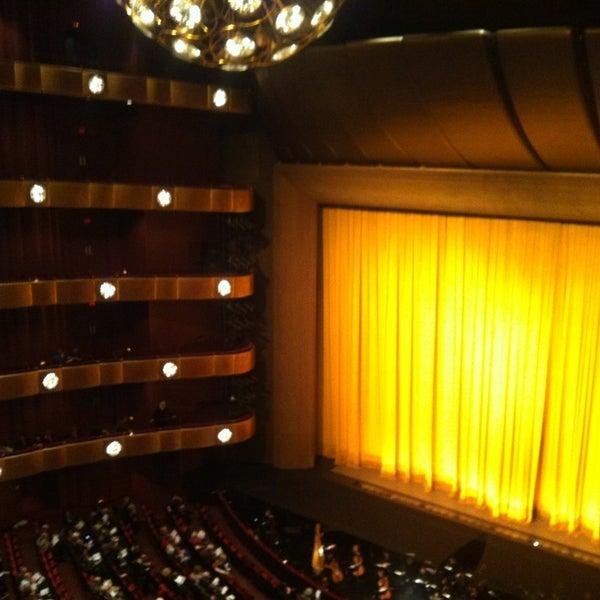 Photo taken at New York City Ballet by Tiana J. Kim on 2/21/2013