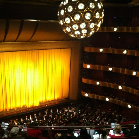 Photo taken at New York City Ballet by Tiana J. Kim on 12/13/2012