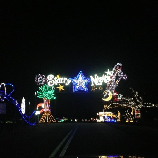 Photo taken at Starry Nights by Kyle M. on 12/6/2012