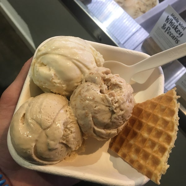 the flavors are unique and taste true to the name the whisky butter pecan, black cat espresso so tasty if you are in #atl check out this spot