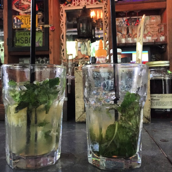 You must try their Mojito!