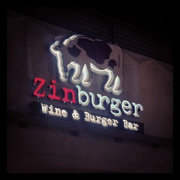 Photo taken at Zinburger by Raquel L. on 11/8/2012