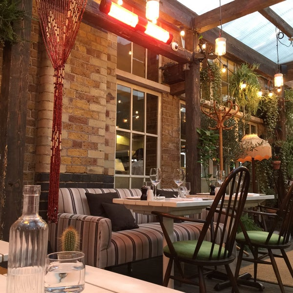Cool Places In London For Lunch: Modern European Restaurant In London