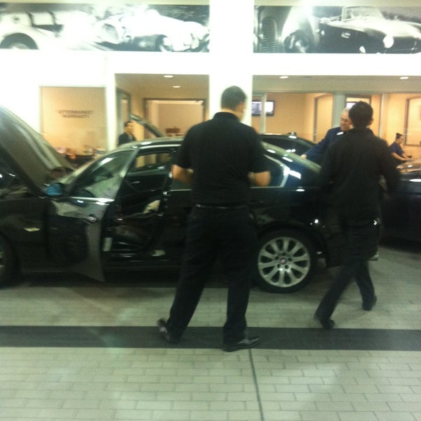 Photo taken at BMW of Beverly Hills Service Department by MJ on 4/12/2013