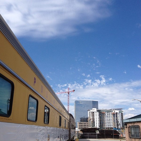 Photo taken at Denver Amtrak (DEN) by US of Pgh on 8/11/2013