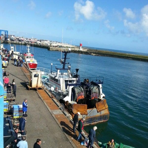 Photo taken at Port du Guilvinec by Josseaux on 4/23/2014