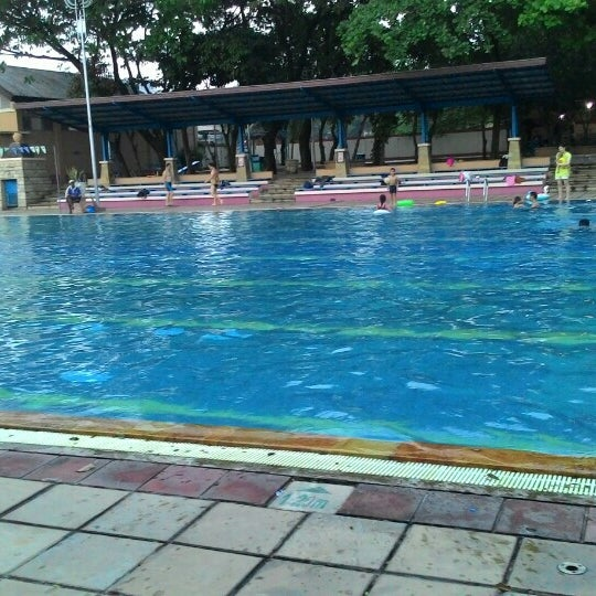 photo taken at olympic swimming pool by reidinda r on 5172015 - Olympic Swimming Pool 2015