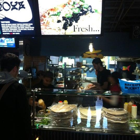 Photo taken at Burrito Boyz by Paulo F. on 12/19/2012