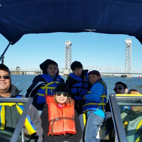 Photo taken at Rio Vista Bridge by Norman B. on 11/28/2015