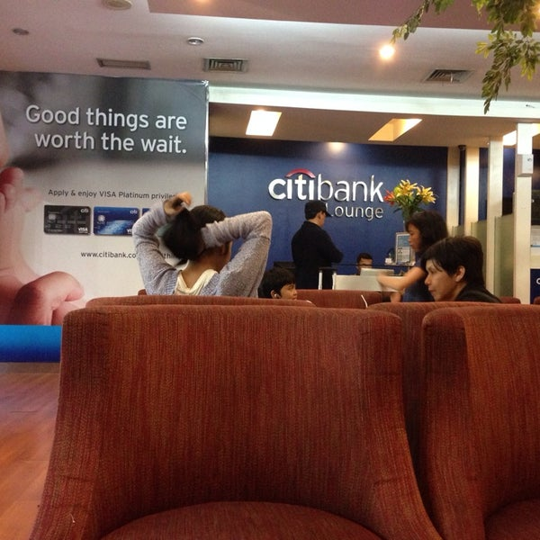 Photo taken at Citibank Lounge by Andy N. on 6/15/2014