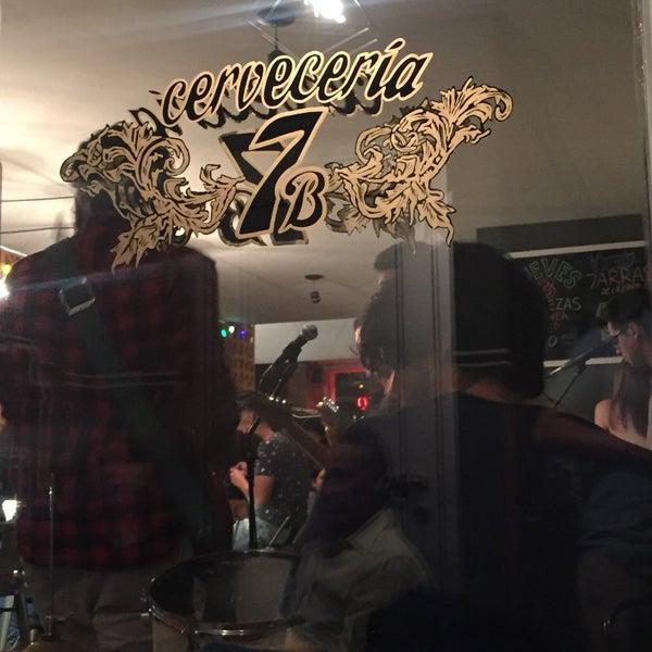 Foto tomada en Cervecería 7B por Andrea H. el 3/12/2017