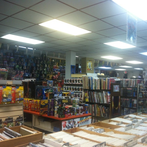 Photo taken at Third Planet Sci-Fi Superstore by ana z. on 2/16/2013