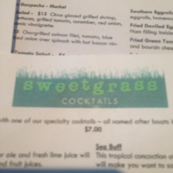 Photo taken at Sweetgrass Restaurant by Señor Krampus on 6/28/2013