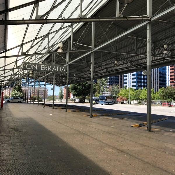 Photo taken at Estación Autobuses de Ponferrada by Luis . on 7/1/2017