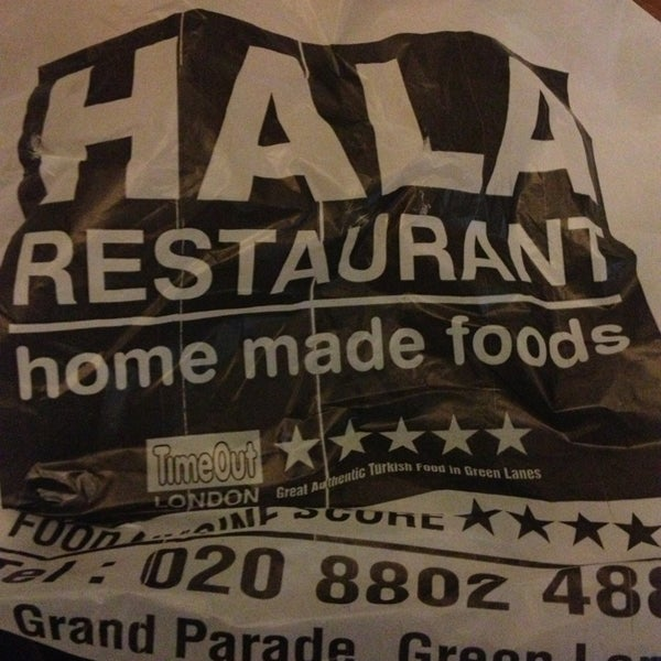 9/14/2013 tarihinde Soner D.ziyaretçi tarafından Hala Restaurant'de çekilen fotoğraf