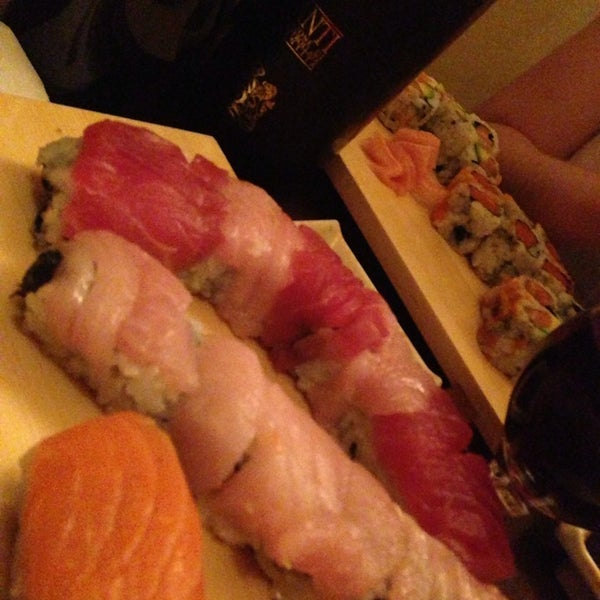 Photo taken at Cherin Sushi by Pearl T. on 11/9/2013