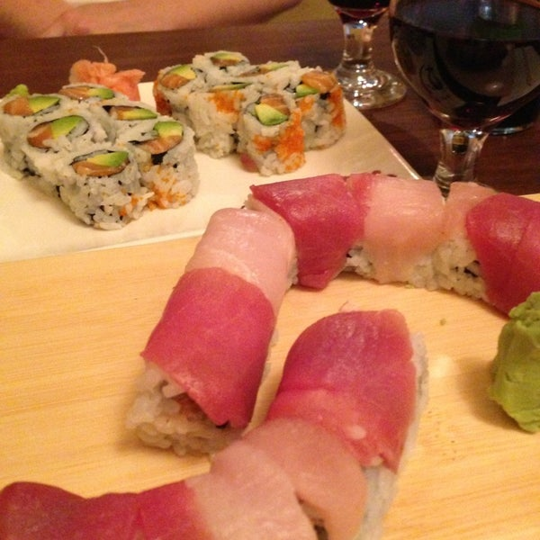 Photo taken at Cherin Sushi by Pearl T. on 8/13/2013