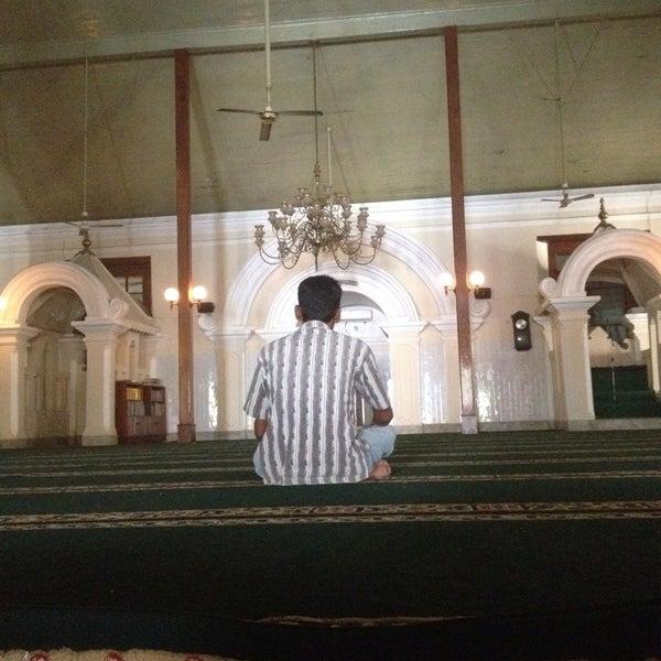 Photo taken at Masjid Jami' Kauman Pekalongan by Afif M. on 7/12/2014