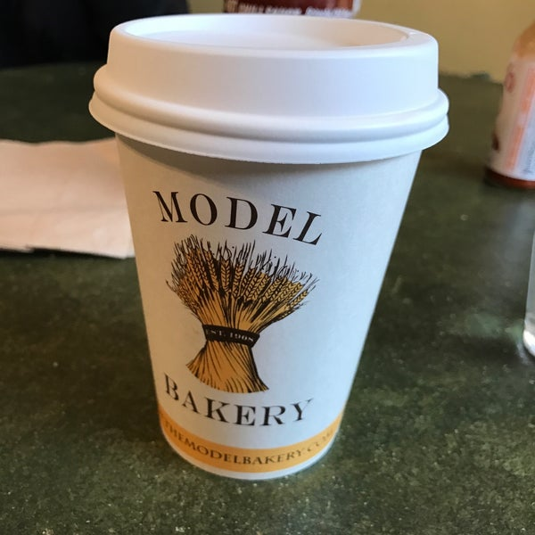 Photo taken at The Model Bakery by Eric C. on 1/16/2017
