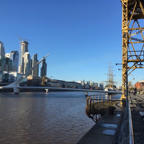 Photo taken at Puerto Madero by David H. on 7/11/2017