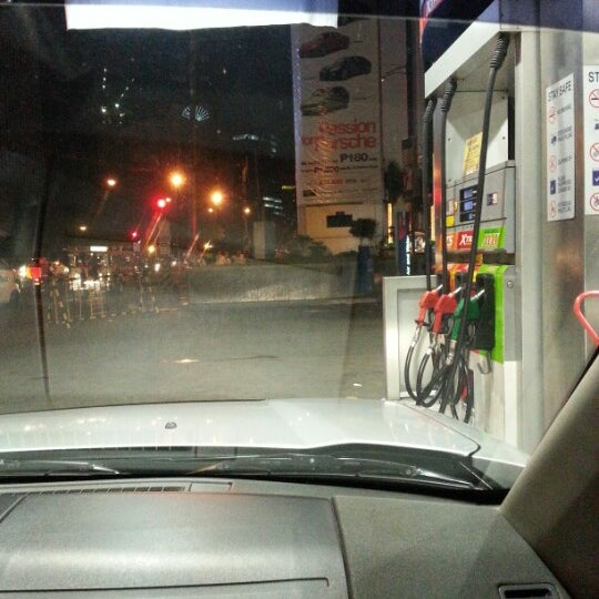 Photo taken at Petron by Mars on 11/17/2012