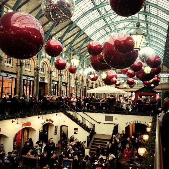 Photo taken at Covent Garden Market by Viki T. on 12/1/2012