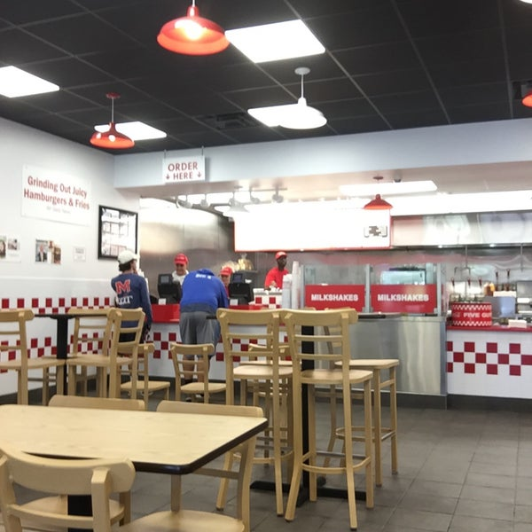 Photo taken at Five Guys by Michael L. F. on 10/10/2016