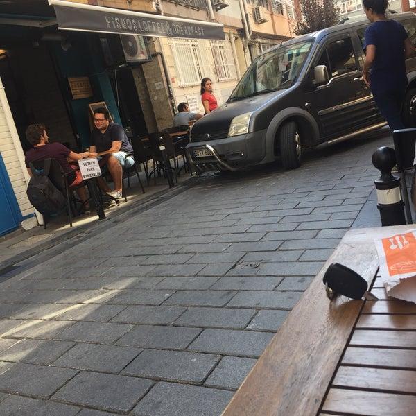 9/18/2016 tarihinde Ali a.ziyaretçi tarafından Fiskos Kahvaltı Cafe'de çekilen fotoğraf