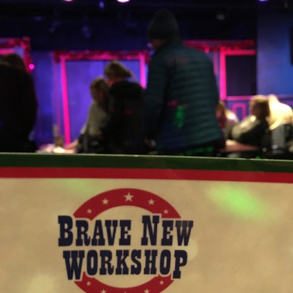 Photo taken at Brave New Workshop Comedy Theatre by Alex N. on 1/1/2018