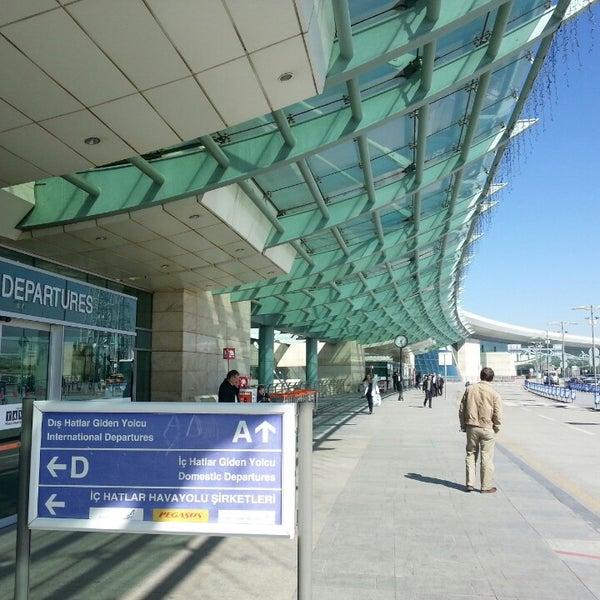 Photo taken at Ankara Esenboğa Airport (ESB) by Özgür Ç. on 10/7/2013