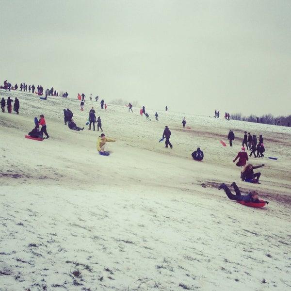 1/19/2013 tarihinde Heather K.ziyaretçi tarafından Hampstead Heath'de çekilen fotoğraf