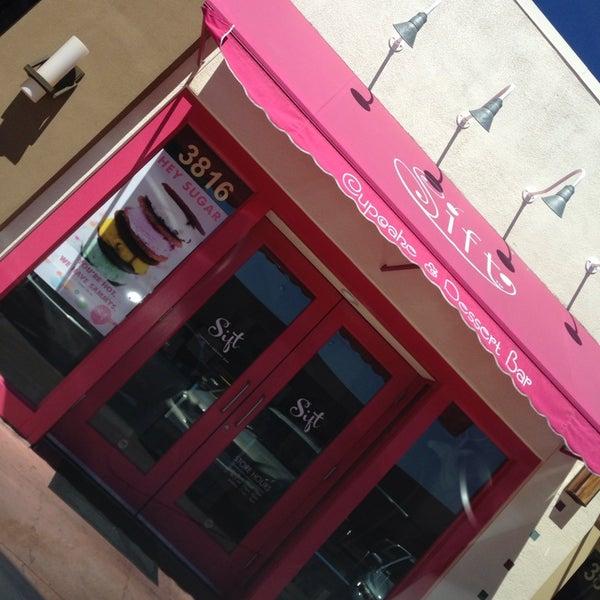 Photo taken at Sift Cupcake & Dessert Bar by Sassy T. on 9/3/2013