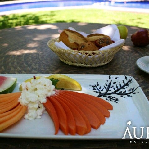 Photo taken at Áurea Hotel and Suites, Guadalajara (México) by Aurea H. on 8/15/2013