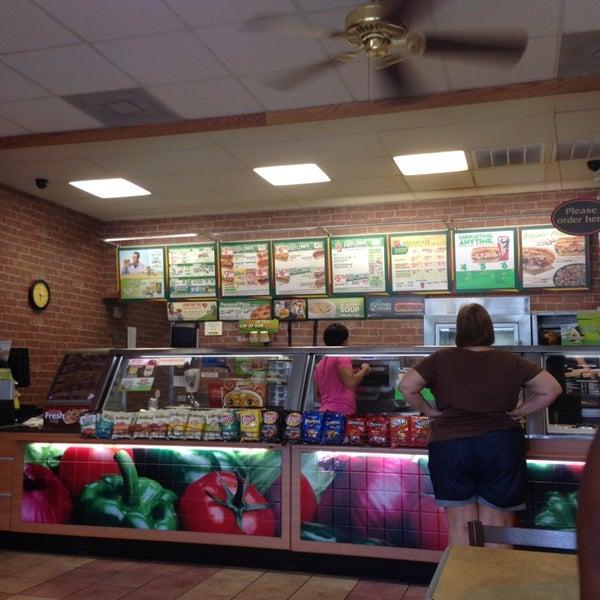 Subway Sandwich Place In Jefferson City