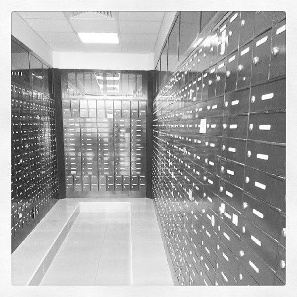 Photo taken at Emirates Post Office مكتب بريد الإمارات by Neel M. on 7/11/2013