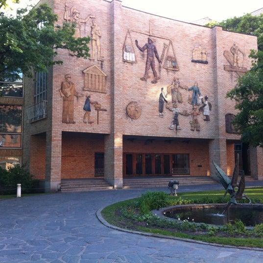 Photo taken at Kauppakorkeakoulu by 박정수 on 6/8/2012