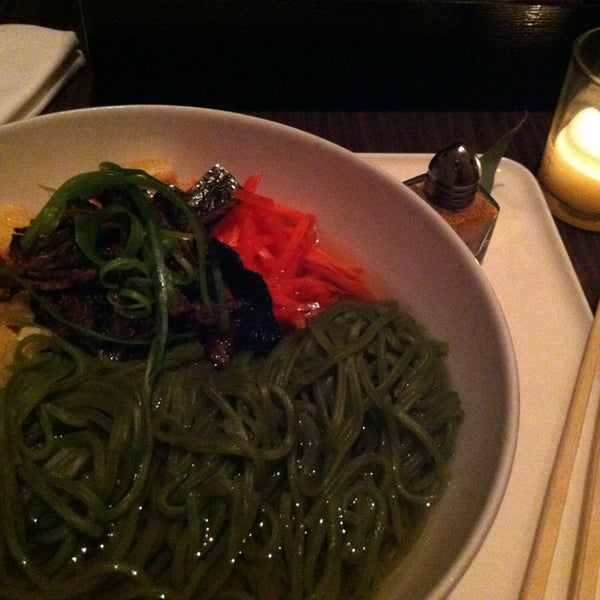 Tourist tip: Although this is known as a dessert bar, try the savory dishes. The soba noodles are flavorful, filling, and vegan!