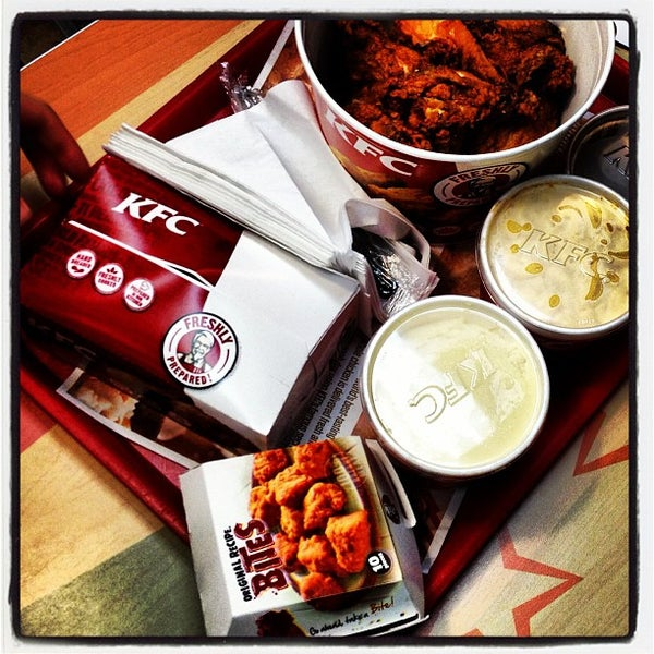 Photo taken at KFC by @HungryEditor B. on 3/6/2013