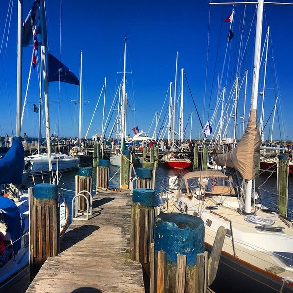 Photo taken at Nantucket Boat Basin by Stephanie H. on 5/23/2015