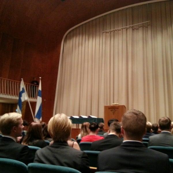 Photo taken at Kauppakorkeakoulu by Olga D. on 12/19/2014