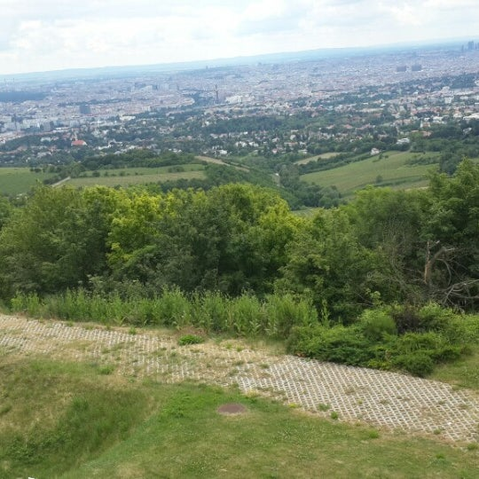 Photo taken at Kahlenberg by Nuray on 6/15/2014
