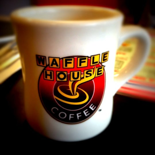 Photo taken at Waffle House by Eric L. on 11/3/2012