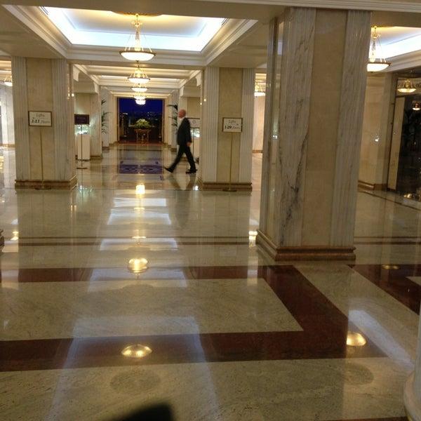 Photo taken at Radisson Royal Hotel by Masha ♕ M. on 7/18/2013