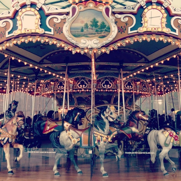 Photo taken at Jane's Carousel by Stages P. on 5/23/2013