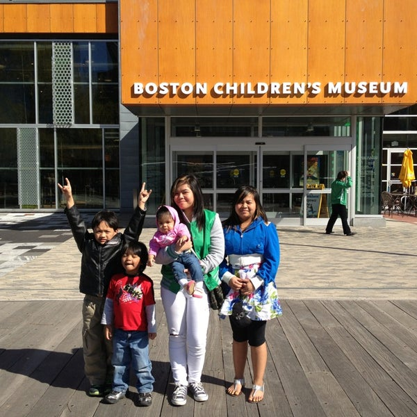 Photo taken at Boston Children's Museum by Chariss B. on 4/17/2013