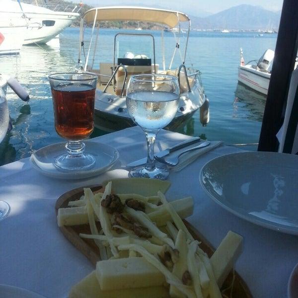 9/27/2015 tarihinde MELİKE A.ziyaretçi tarafından Fethiye Yengeç Restaurant'de çekilen fotoğraf