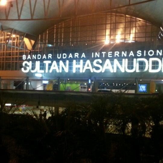 Photo taken at Sultan Hasanuddin International Airport (UPG) by ariefa m. on 11/19/2014